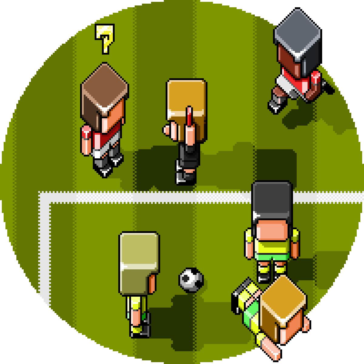 Sensible Soccer Red Card