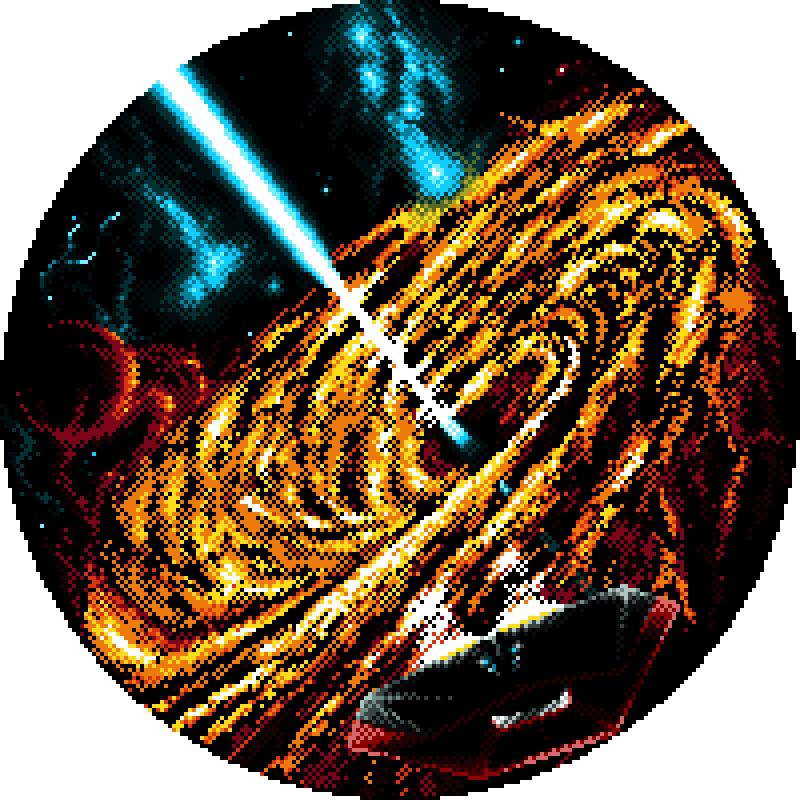 Elite David Braben Cobra Mk. III Black Hole