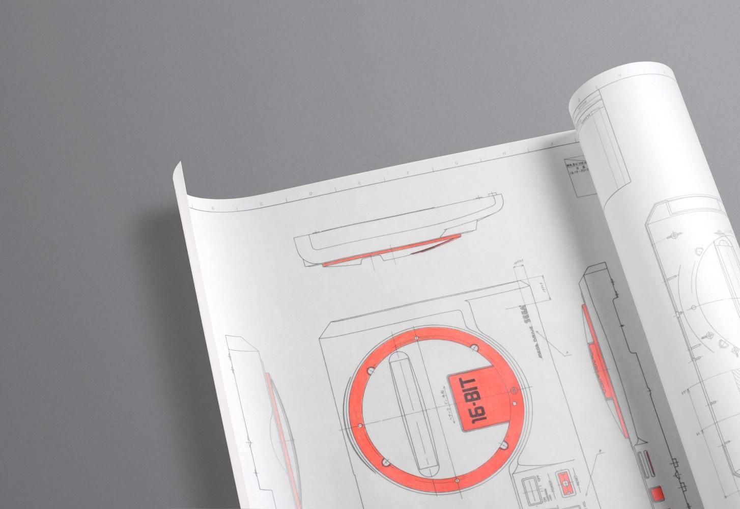 Mega Drive Poster – Detail